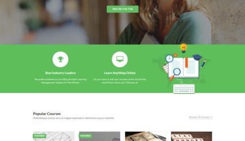 CreativeLearn – eLearning Education WordPress theme