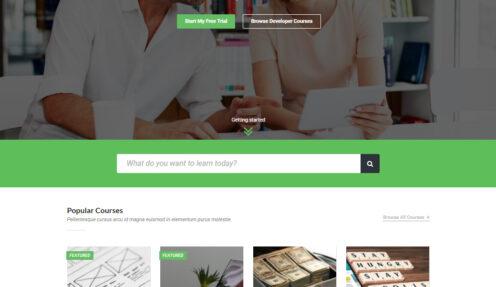 StudyCamp – eLearning LMS Education WordPress theme