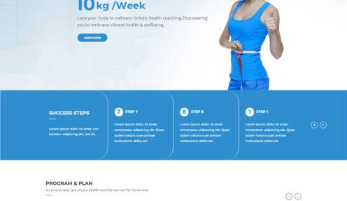 Healthy Diet – Healthy Coaching WordPress Theme