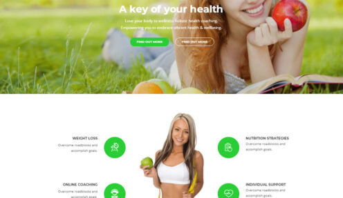 Health Coach – Life Health Coaching WordPress Theme