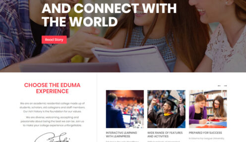 Ivy League – University Institute High School Elearning WordPress Theme