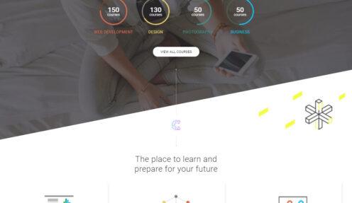 WordPress LMS – WordPress Theme for Online Education & School