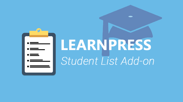 Student List add-on for LearnPress