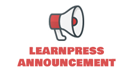 Announcement add-on for LearnPress