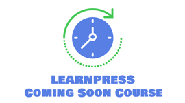 Coming Soon add-on for LearnPress