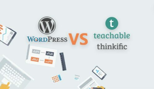 Teachable vs WordPress themes : Which should I use?
