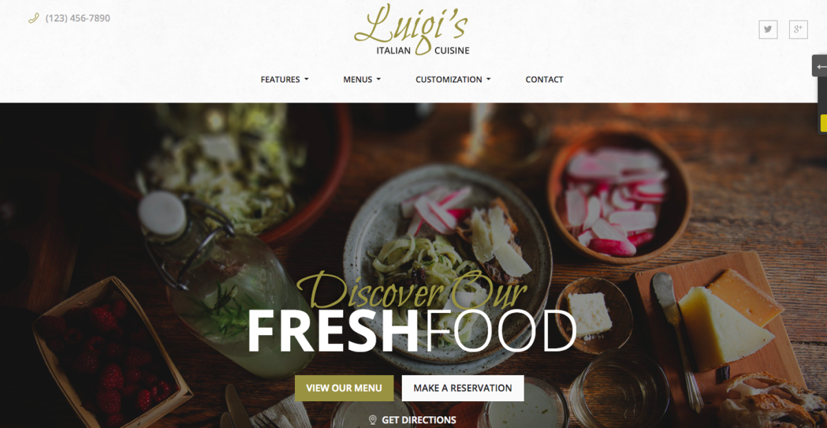 Top 10 Best Restaurant WordPress Themes 2018 Thimpress