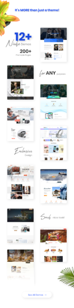 Multi-purpose eCommerce WordPress Theme
