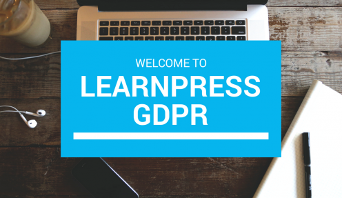 LearnPress GDPR: We are Ready
