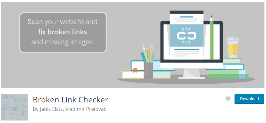 Broken link checker WP Plugin