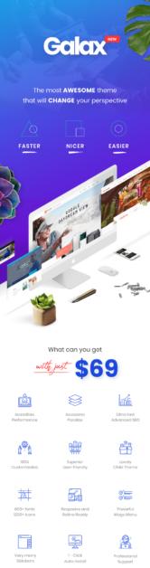 Galax The Best WordPress Theme