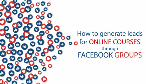 How to generate leads for online courses through Facebook Group