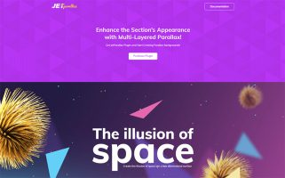 JetParallax - Addon for Elementor Page Builder WordPress Plugin