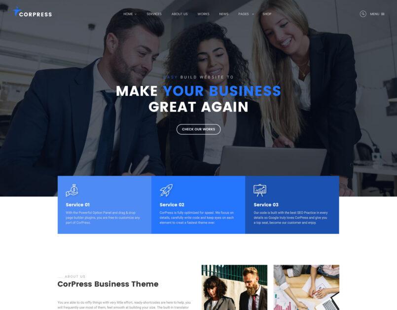 Galax Creative eCommerce Multipurpose WordPress Theme