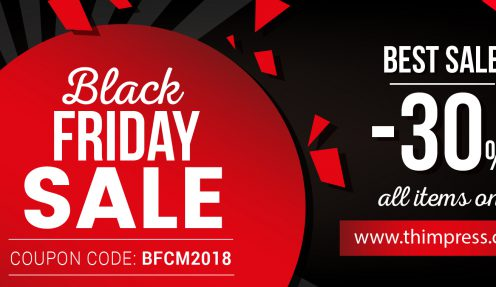 Complete Collection of Black Friday x Cyber Monday WordPress, Domain, Hosting deals 2018 (Updating…)
