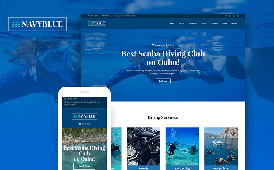 Snorkeling WordPress Theme