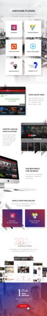 Video Blog & Personal Vlog, Video WordPress Theme | Vividly - 3
