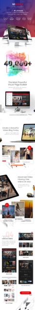 Video Blog & Personal Vlog, Video WordPress Theme | Vividly - 1