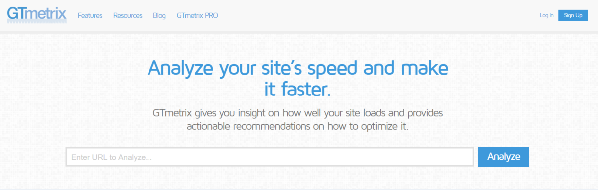 gtmetrix optimize wordpress website speed