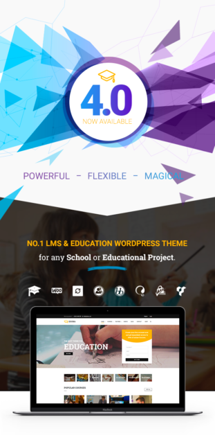 Best Education WordPress theme  Download Education WordPress Theme | Education WP nulled eduma header 01 v40