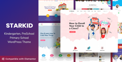 Kindergarten & Children Care WordPress Theme | StarKid