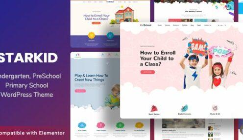 Kindergarten & Children Care WordPress Theme | StarKid