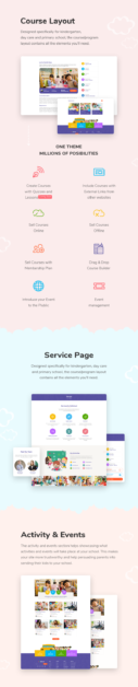 Kindergarten & Children Care WordPress Theme | StarKid - 2