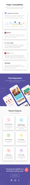 Kindergarten & Children Care WordPress Theme | StarKid - 3