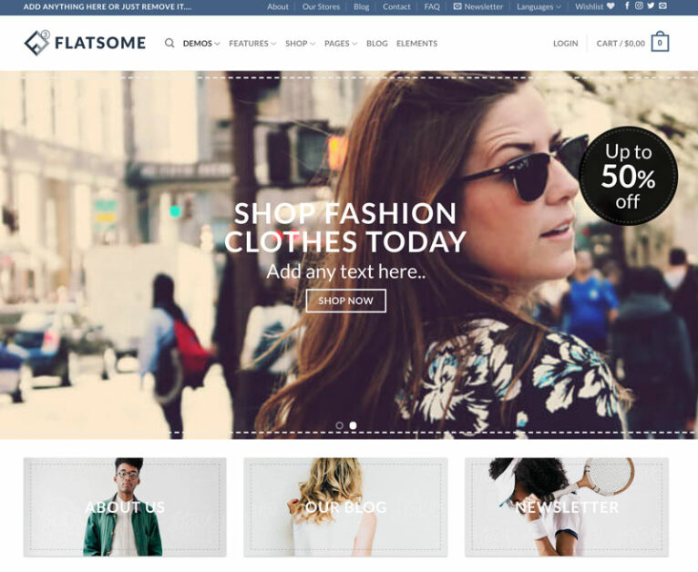flatsome dropshipping wordpress theme