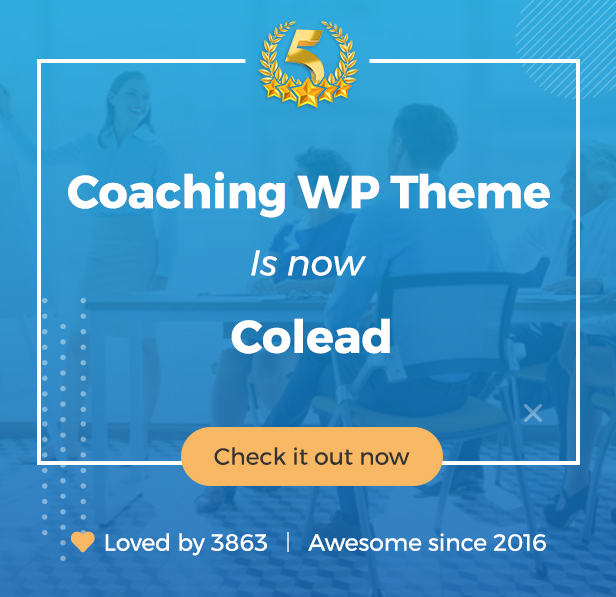 Colead | Coaching & Online Courses WordPress Theme - 3