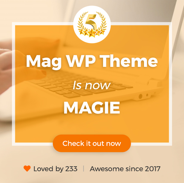 Magie | Magazine WordPress Theme - 7