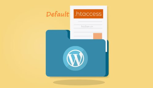 How to Create the Default  .htaccess File in WordPress
