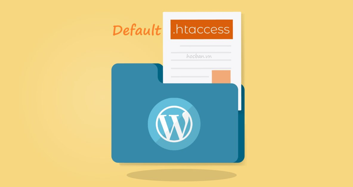 Default WordPress htaccessFile