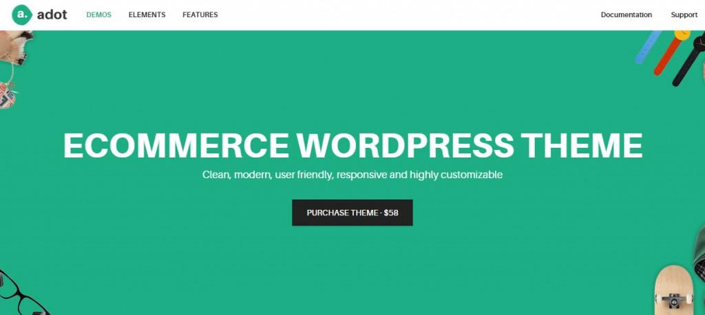 adot wordpress ecommerce theme