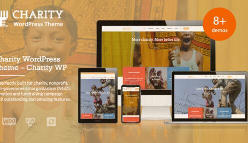 Charity WordPress Theme – Charitix from ThimPress