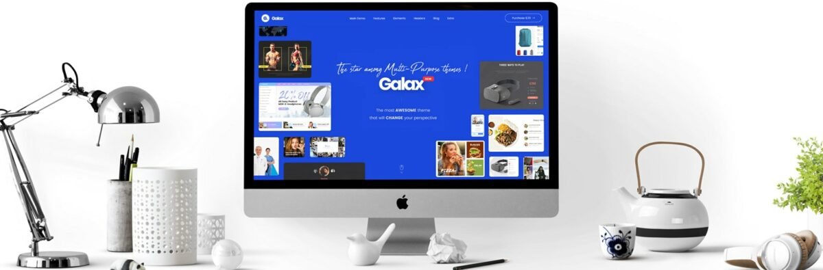 galax wordpress portfolio theme