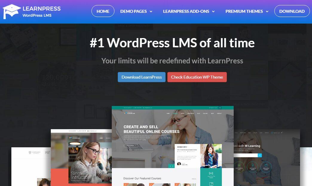 learnpress wordpress plugin