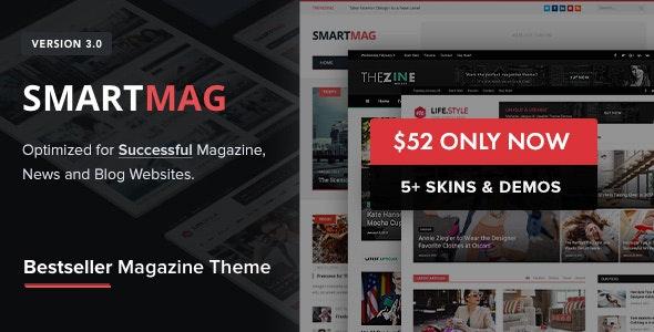 smartmag wordpress newspaper theme
