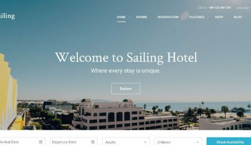 A Fully-Prepared Instructions on Sailing WordPress Theme