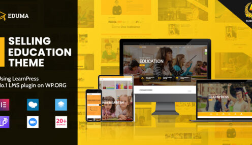 Education WordPress Theme – The most responsive and popular