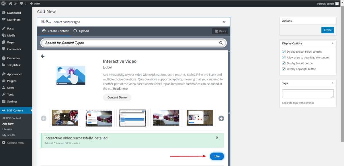 use-interactive-video