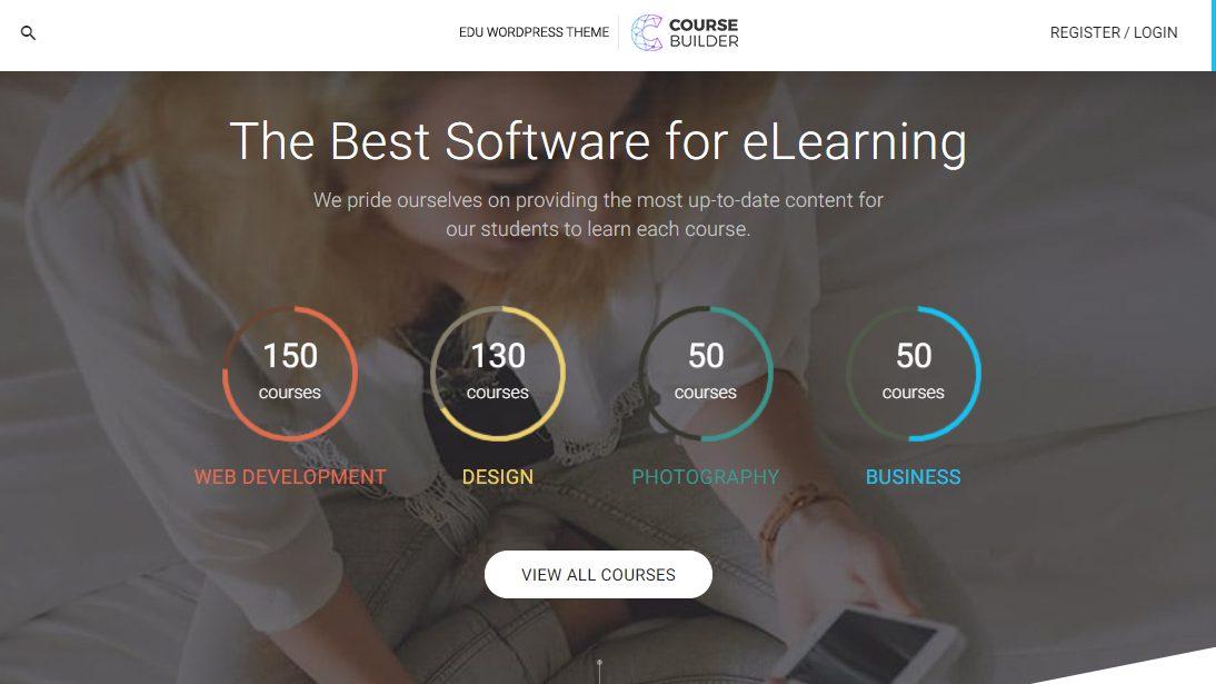 WordPress LMS Course Builder