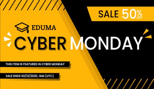 Black Friday – Eduma 50% Off