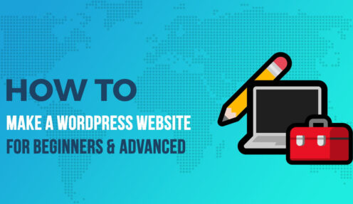 The detailed guideline to create websites using WordPress themes