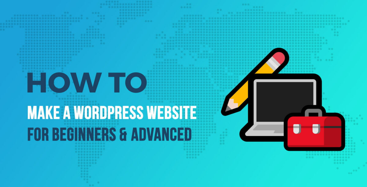 create websites using wordpress themes