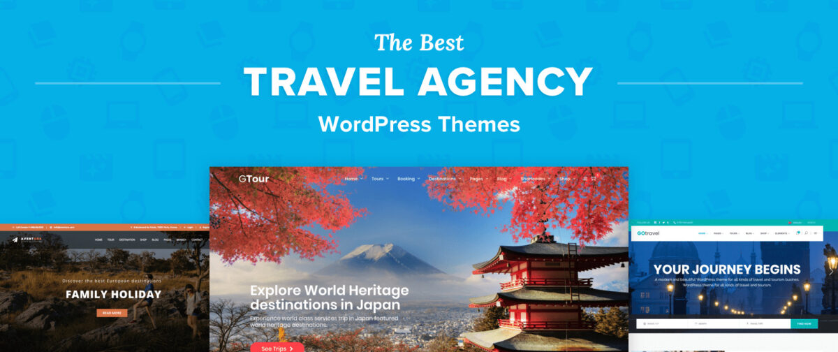 WordPress Themes for Travel Agency