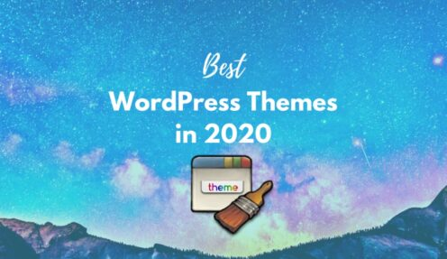 Top 10 most popular and best WordPress themes in 2020