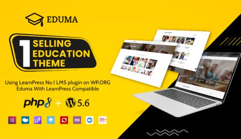 Review Eduma: Top 1 Education WordPress Theme on Envato Market
