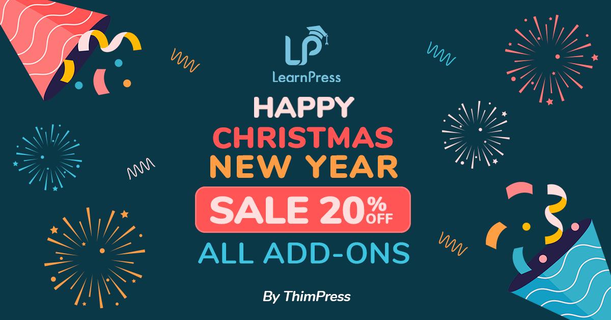 LearnPress XMas Coupon 2021