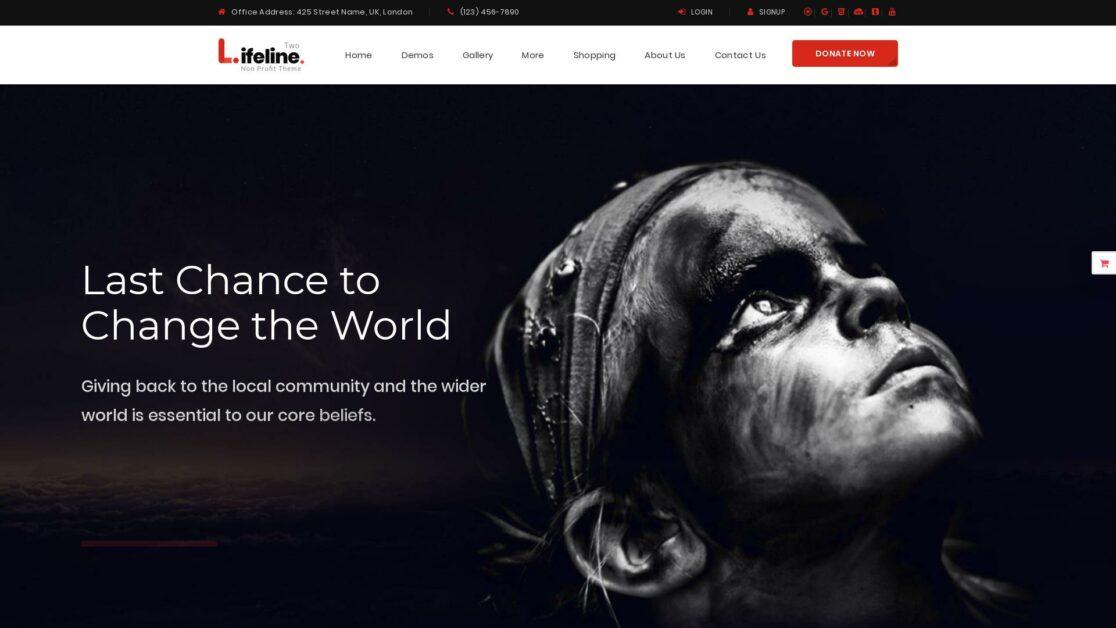 lifeline 2 wordpress theme